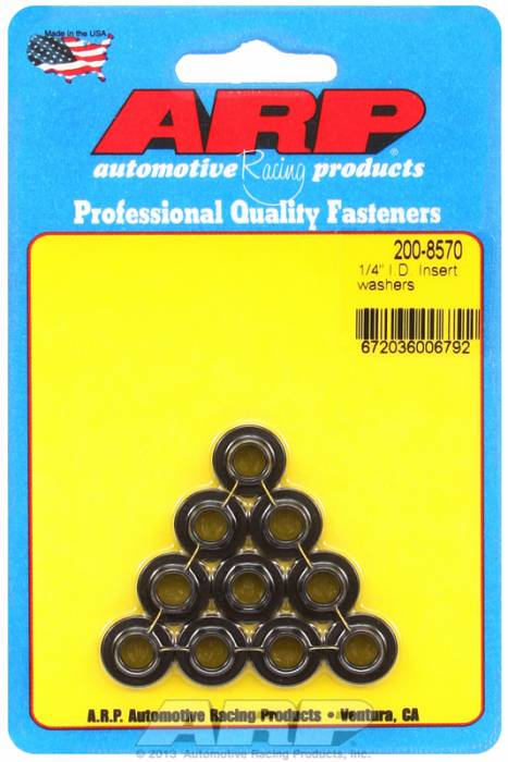 "ARP - ARP2008570 - ARP Insert Washer - 1/4"" - 10 Pack"