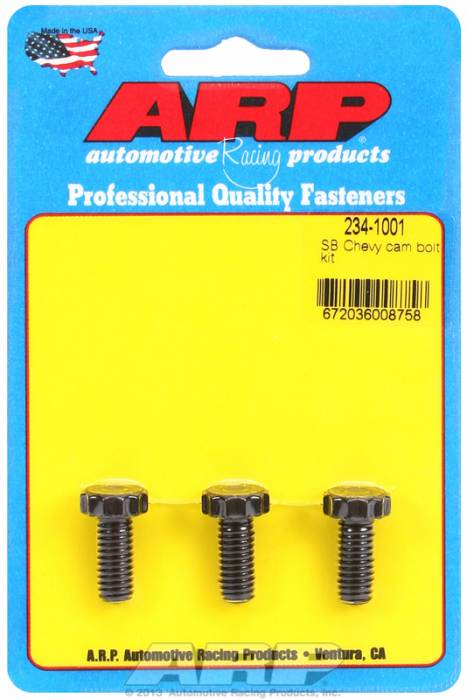 ARP - ARP2341001 - ARP Camshaft Bolts- Small Block Chevy,Big Block Chevy, 90 Degree V6- Pro Series