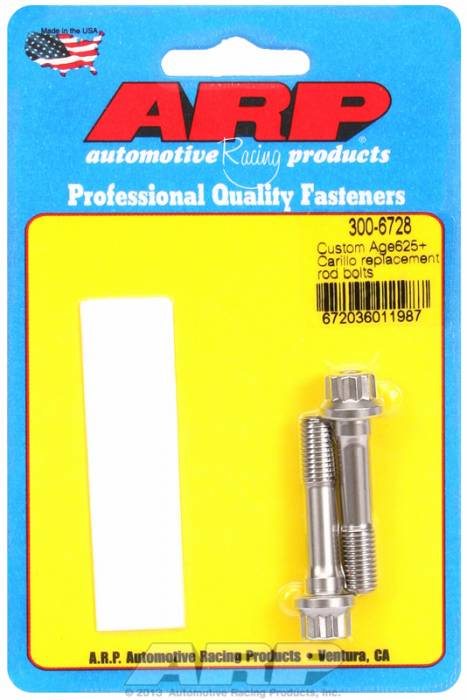 ARP - ARP3006728 - Custom Age625+ Carillo Replacement Rod Bolts
