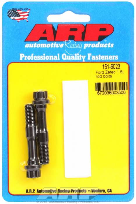 ARP - ARP1516023 - ARP High Performance Rod Bolts- Ford Zetec 1.6L, 8mm- 2 Pieces