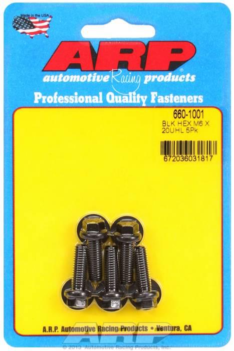 ARP - ARP6601001 - M6x1.00x20 HEX BLACK
