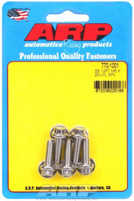 ARP - ARP7701001 - M6 X 1.00 X 20 12Pt