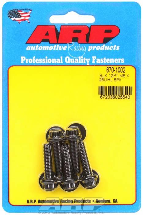 ARP - ARP6701002 - M6 X 1.00 X 25 12PT