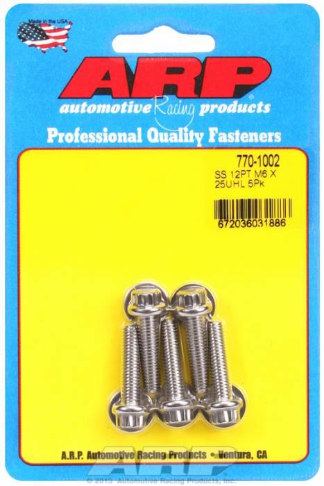 ARP - ARP7701002 - M6 X 1.00 X 25 12Pt