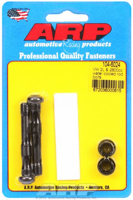 ARP - ARP1046024 -  ARP High Performance Wave-Loc Rod Bolts- Volkswagen 2.0L, 1.8L Water Cooled -2 Pieces