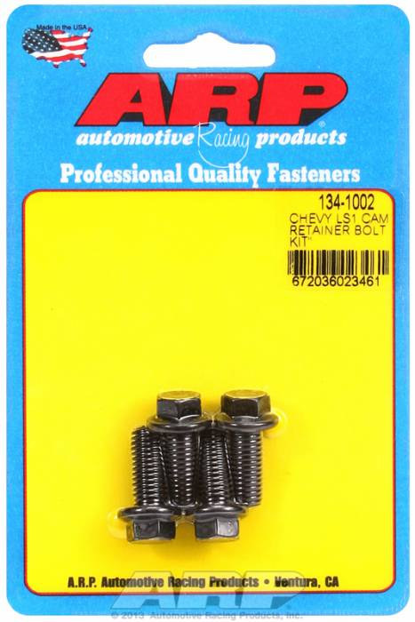 ARP - ARP1341002 - Cam Retainer Bolt Kit for Gen III/LS Series Engines-High Performance Series-M8 x 1.25, 20mm UHL