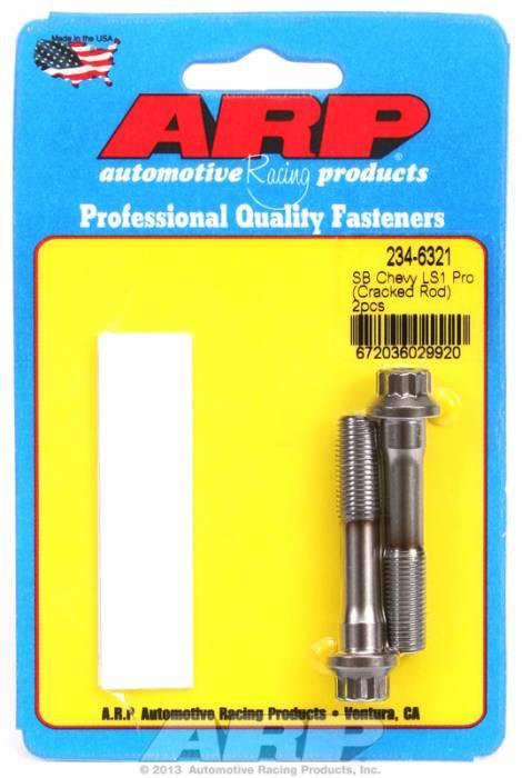 ARP - ARP2346321 -ARP-Rod Bolts-Pro Series ARP2000-Chevy LS1-LS6 & Gen III Engines -2 Pieces