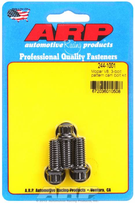 ARP - ARP2441001 - ARP Camshaft Bolts- Chrysler With 3 Bolt Cam Gear- Pro Series