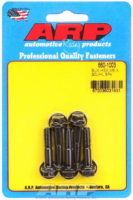 ARP - ARP6601003 - M6x1.00x30 HEX BLACK