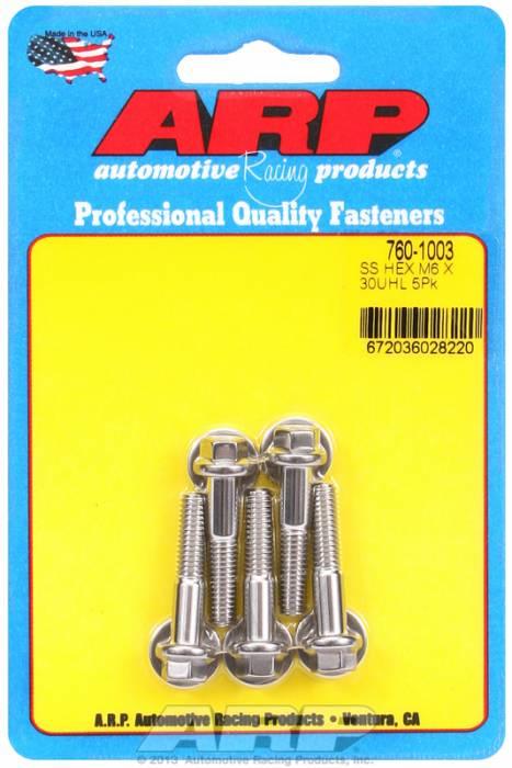 ARP - ARP7601003 - M6 X 1.00 X 30 HEX S