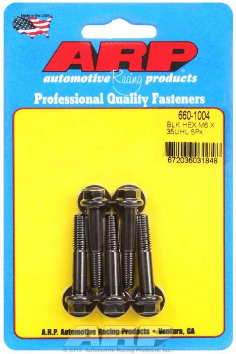 ARP - ARP6601004 - M6x1.00x35 HEX BLACK