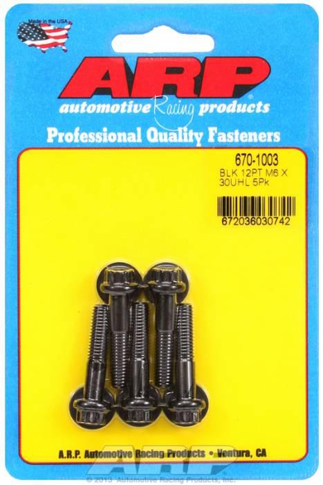 ARP - ARP6701003 - M6 X 1.00 X 30 12Pt
