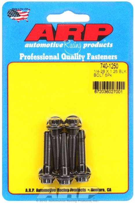 "ARP - ARP7401250 - ""1/4""""-28 X 1.250 12PT"""