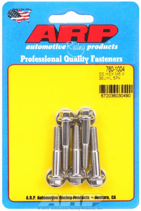 ARP - ARP7601004 - M6 X 1.00 X 35 HEX S