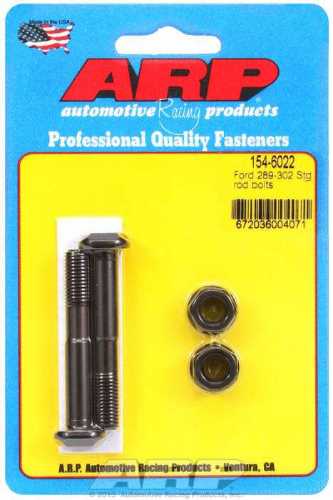 "ARP - ARP1546022 - ARP High Performance Rod Bolts- Ford 289,302- Standard 5/16""-2 Pieces"