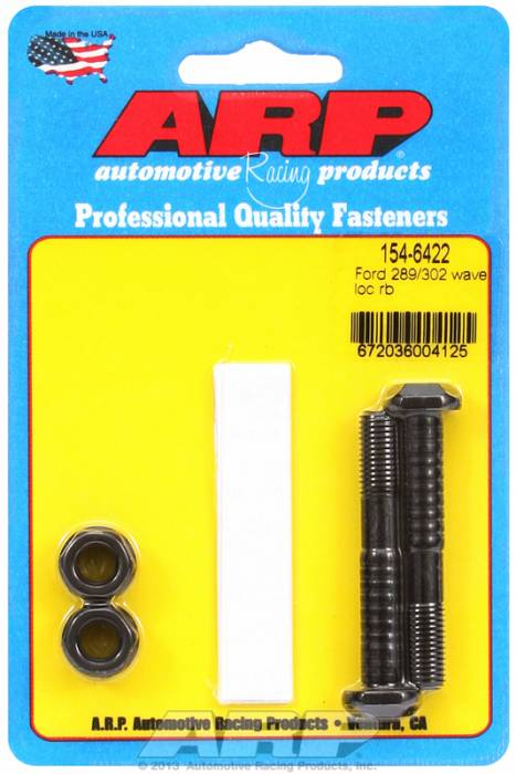 "ARP - ARP1546422 - ARP High Performance Wave-Loc Rod Bolts- Ford 289,302- Standard 5/16""- 2 Pieces"