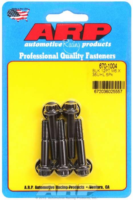 ARP - ARP6701004 - M6 X 1.00 X 35 12PT