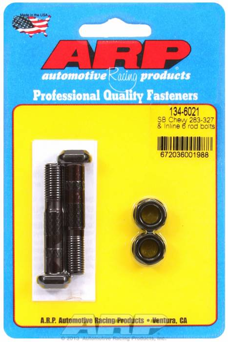 ARP - ARP1346021 - ARP-Rod Bolts-High Performance-Chevy-283-327-Inline 6-Small Journal-2 Pieces