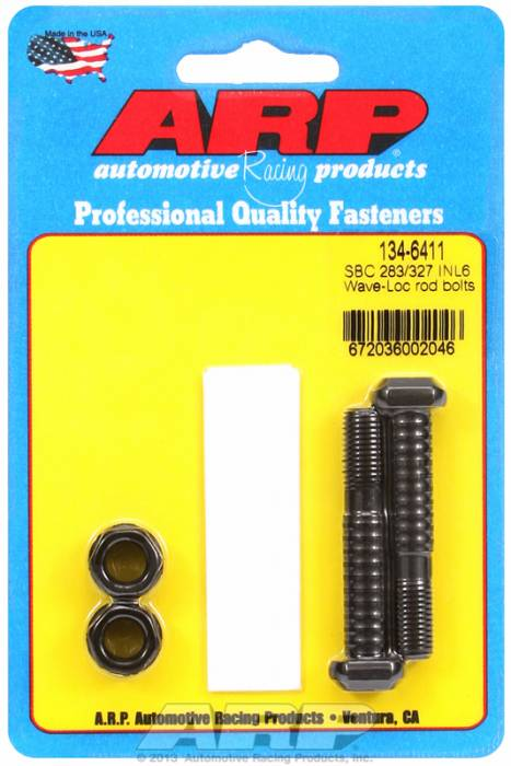 ARP - ARP1346411 - ARP-Rod Bolts-High Performance Wave-Loc -Chevy 283-327-Inline 6-Small Journal-2 Pieces