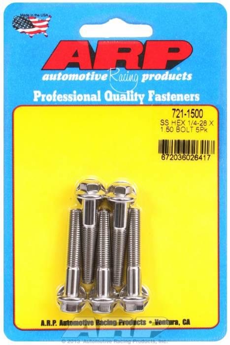 ARP - ARP7211500 - 1/4'-28 X 1.500 HEX