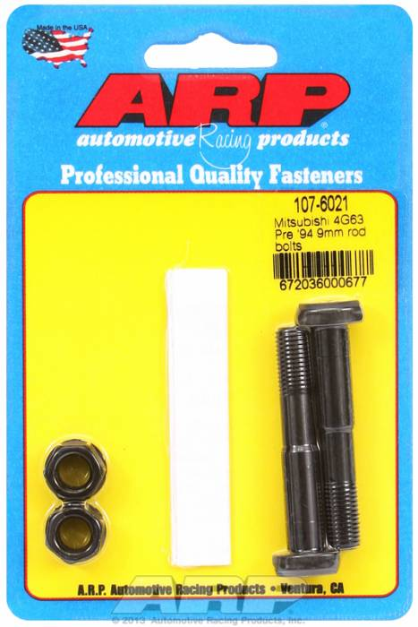 ARP - ARP1076021 -ARP High Performance Rod Bolts- Mitsubishi 4G63,Pre 1994,9Mm -2 Pieces