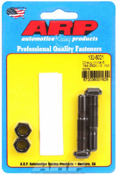 ARP - ARP1326021 - ARP-Rod Bolts-High Performance-Chevy Inline 6 Cyl (194)-2 Pieces
