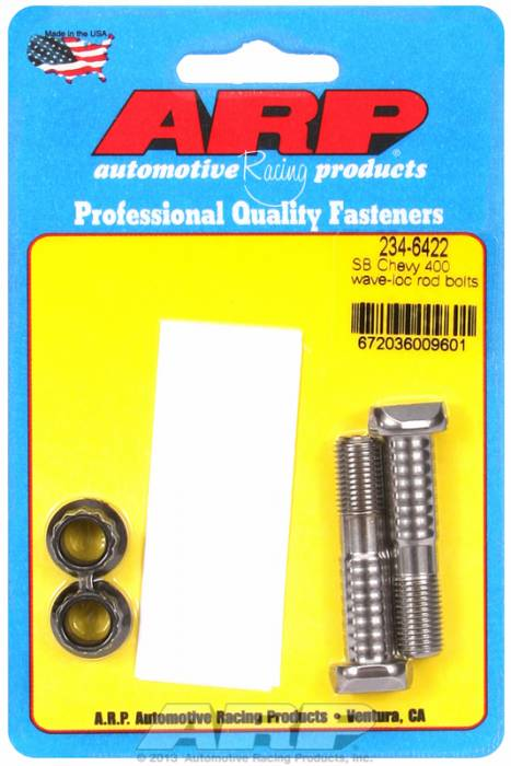 ARP - ARP2346422 - ARP-Rod Bolts-Pro Wave-Loc-Chevy 400 Small Block-2 Pieces