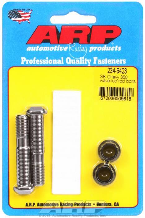 ARP - ARP2346423 - ARP-Rod Bolts-Pro Wave-Loc-Chevy 305-307-350 Large Journal- 2 Piece Set