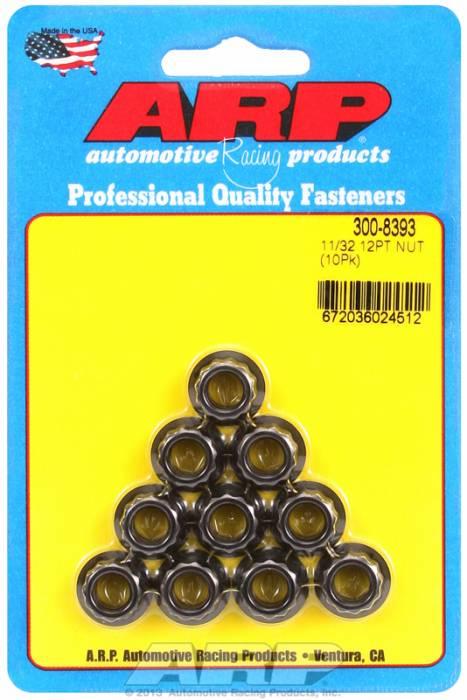 """ARP - ARP3008393 - """"11/32""""""""24 12Pt Nut Ki"""""""
