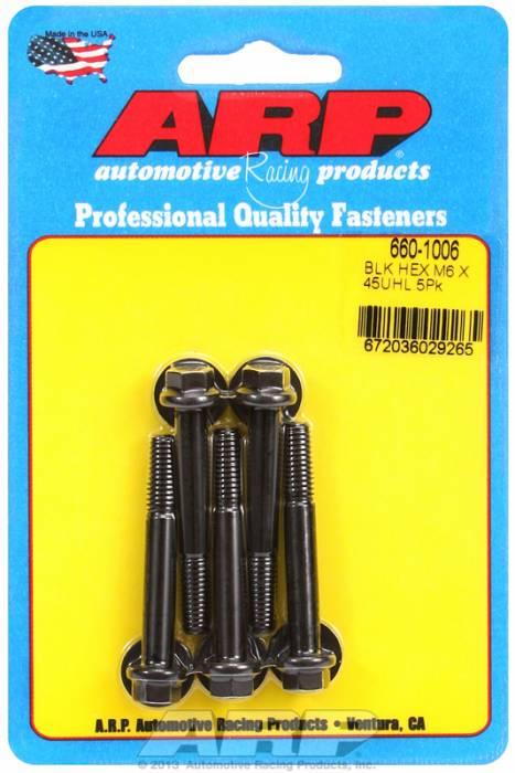 ARP - ARP6601006 - M6X1.00X45 HEX BLCK