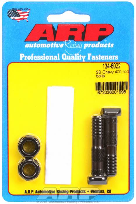 ARP - ARP1346022 - ARP-Rod Bolts-High Performance-Chevy 400 Small Block-2 Pieces