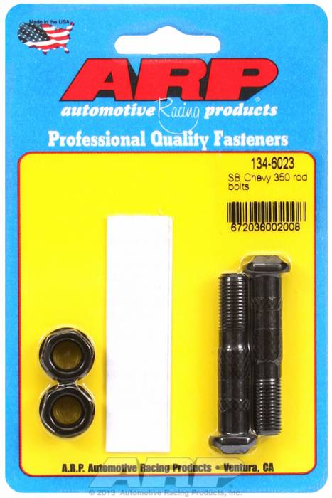 ARP - ARP1346023 - ARP-Rod Bolts-High Performance-Chevy 305-307-350 Large Journal- 2 Pieces