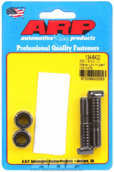 ARP - ARP1346422 - ARP-Rod Bolts-High Performance Wave-Loc -Chevy 400 Small Block- 2 Pieces
