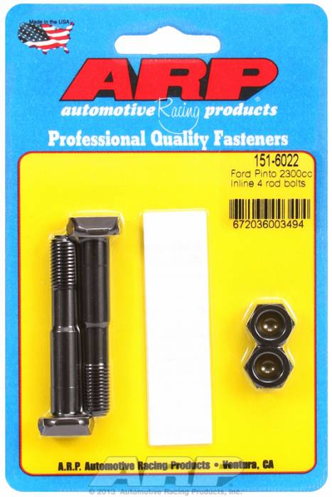 ARP - ARP1516022 - ARP High Performance Rod Bolts- Ford 2300 Pinto- 2 Pieces