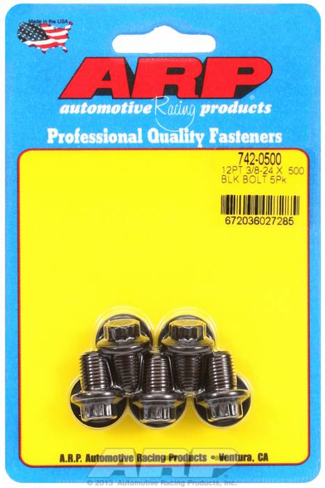 "ARP - ARP7420500 - ""3/8""""-24 X .500 12Pt"""