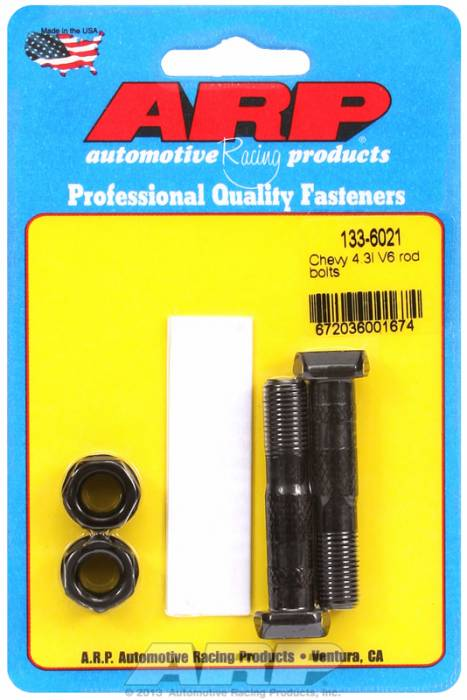 ARP - ARP1336021 - ARP-Rod Bolts-High Performance-Chevy 4.3L V6- 2 Pieces