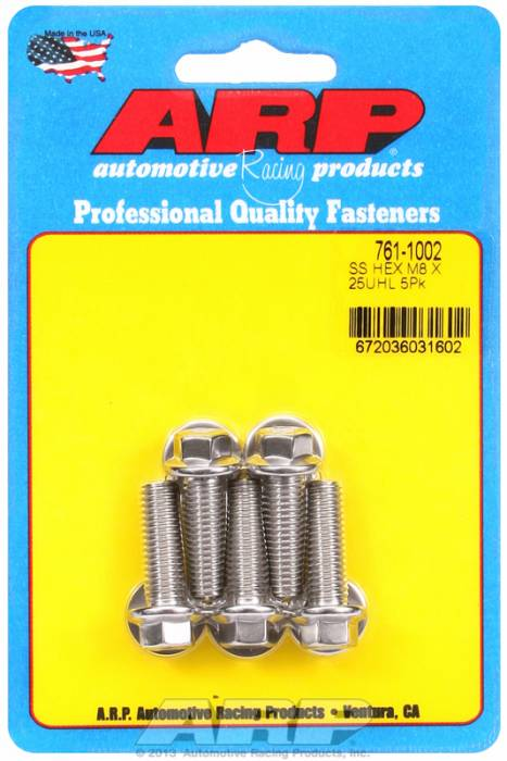 ARP - ARP7611002 - M8 X 1.25 X 25 HEX S