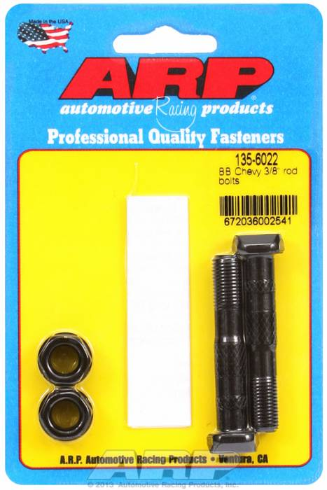"ARP - ARP1356022 - ARP-Rod Bolts-High Performance-Chevy Big Block- 396 & 427-3/8""-2 Pieces"