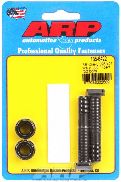 "ARP - ARP1356422 - ARP-Rod Bolts-High Performance Wave-Loc-Chevy Big Block- 396 & 427-3/8""-2 Pieces"