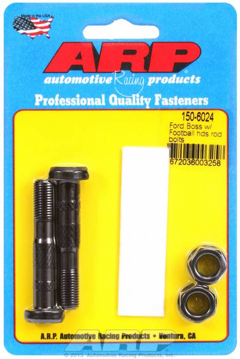 ARP - ARP1506024 - ARP High Performance Rod Bolts- Ford Boss 302,429 & 351W- 2 Pieces
