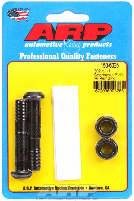 "ARP - ARP1506025 - ARP High Performance Rod Bolts- Ford 302 CID Sportsman SVO - 3/8""- 2 Pieces"