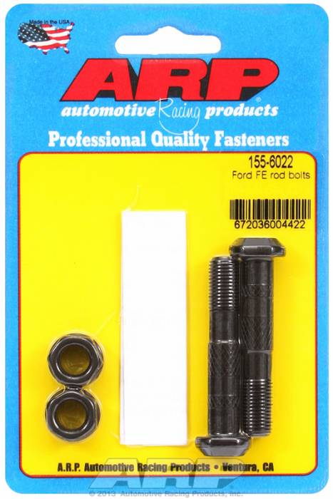 "ARP - ARP1556022 -   ARP High Performance Rod Bolts- Ford 390,428  ""FE"" Block 13/32"" Bolt-2 Pieces"