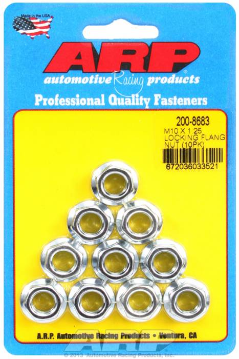 ARP - ARP2008683 - M10X1.25 Locking Fla