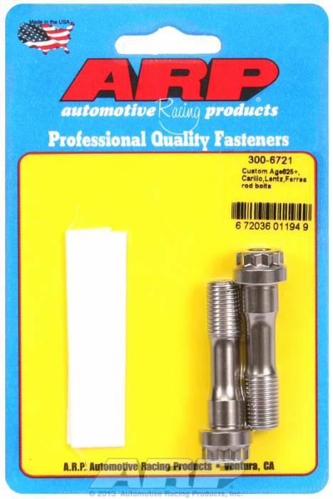 ARP - ARP3006721 - Custom Age625+ Carillo,Lentz,Ferrea rod bolts