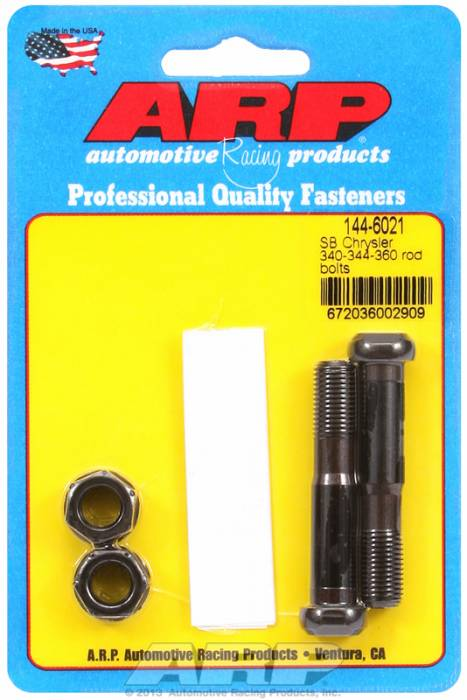 ARP - ARP1446021 - ARP-Rod Bolts-High Performance-Chrysler Small Block- 318-340-360- 2 Pieces