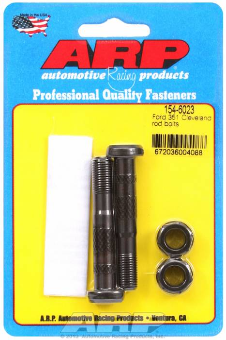 """ARP - ARP1546023 - ARP High Performance Rod Bolts- Ford 351 """"C"""" - 2 Pieces"""