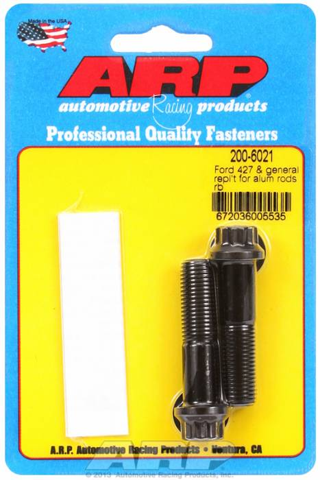 ARP - ARP2006021 -  ARP High Performance Rod Bolts- Ford 427 Lemans-2 Pieces