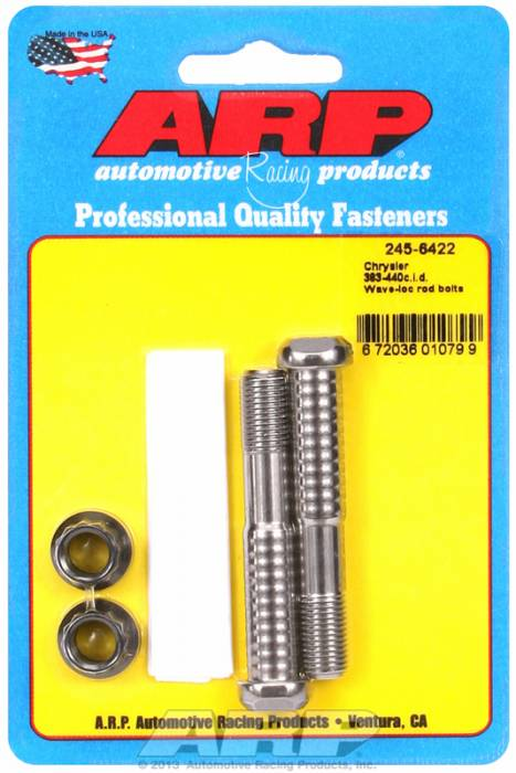 ARP - ARP2456422 - ARP-Rod Bolts-High Performance Pro-Wave-Chrysler 383-440 Wedge, 354-392 Hemi,413- 2 Pieces