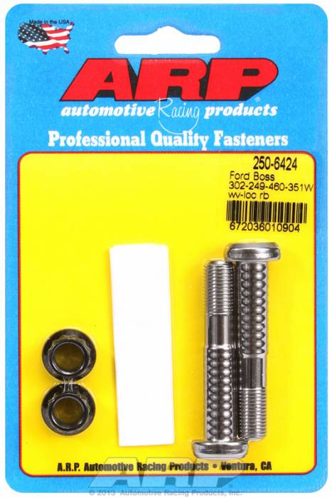 ARP - ARP2506424 - ARP High Performance Pro Wave-Loc Rod Bolts- Ford Boss 302 & 351W-  2 Pieces
