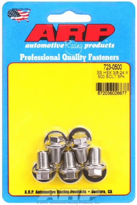 """ARP - ARP7230500 - """"3/8""""""""-24 X .500 HEX S"""""""